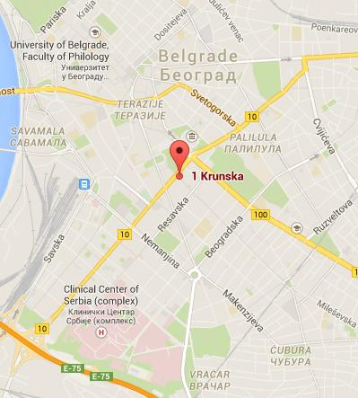 Türk Büyükelçiği Belgrad