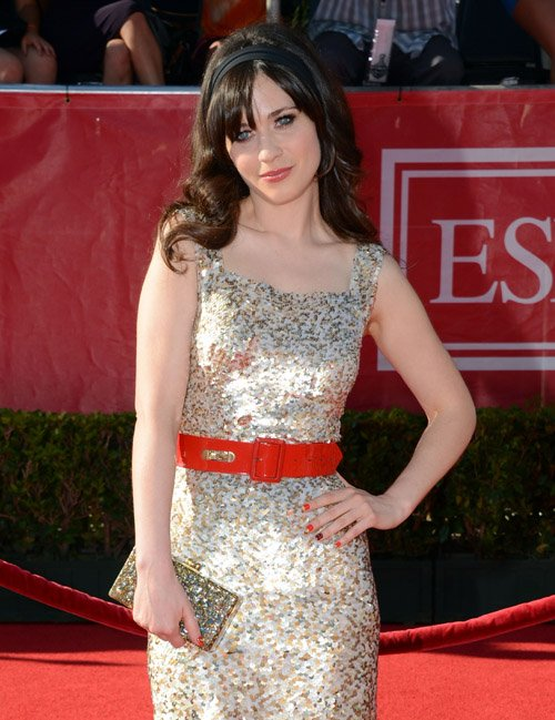 Zooey Deschanel's Darling 2012 ESPY Awards Arrival » Gossip | Zooey Deschanel