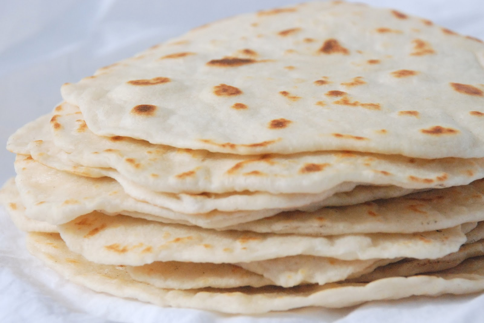 Homemade Flour Tortillas Recipe — Dishmaps
