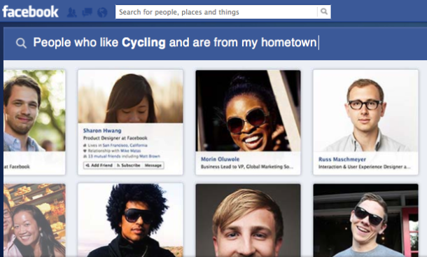 Facebook's Graph Search bars adults