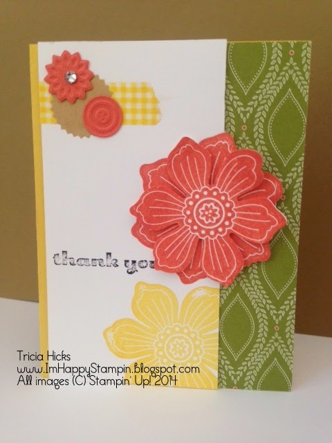 Bloom for You, Park Lane dsp, Stampin' Up!