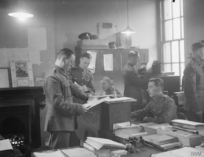 Grenadier Guards in Wellington Barracks  (IWM 19/124)