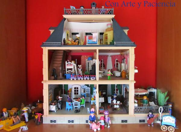 Cuberteria guardar decorar tu casa es for Playmobil casa de lujo