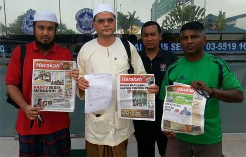 Harakah palsu diedar di seluruh Selangor