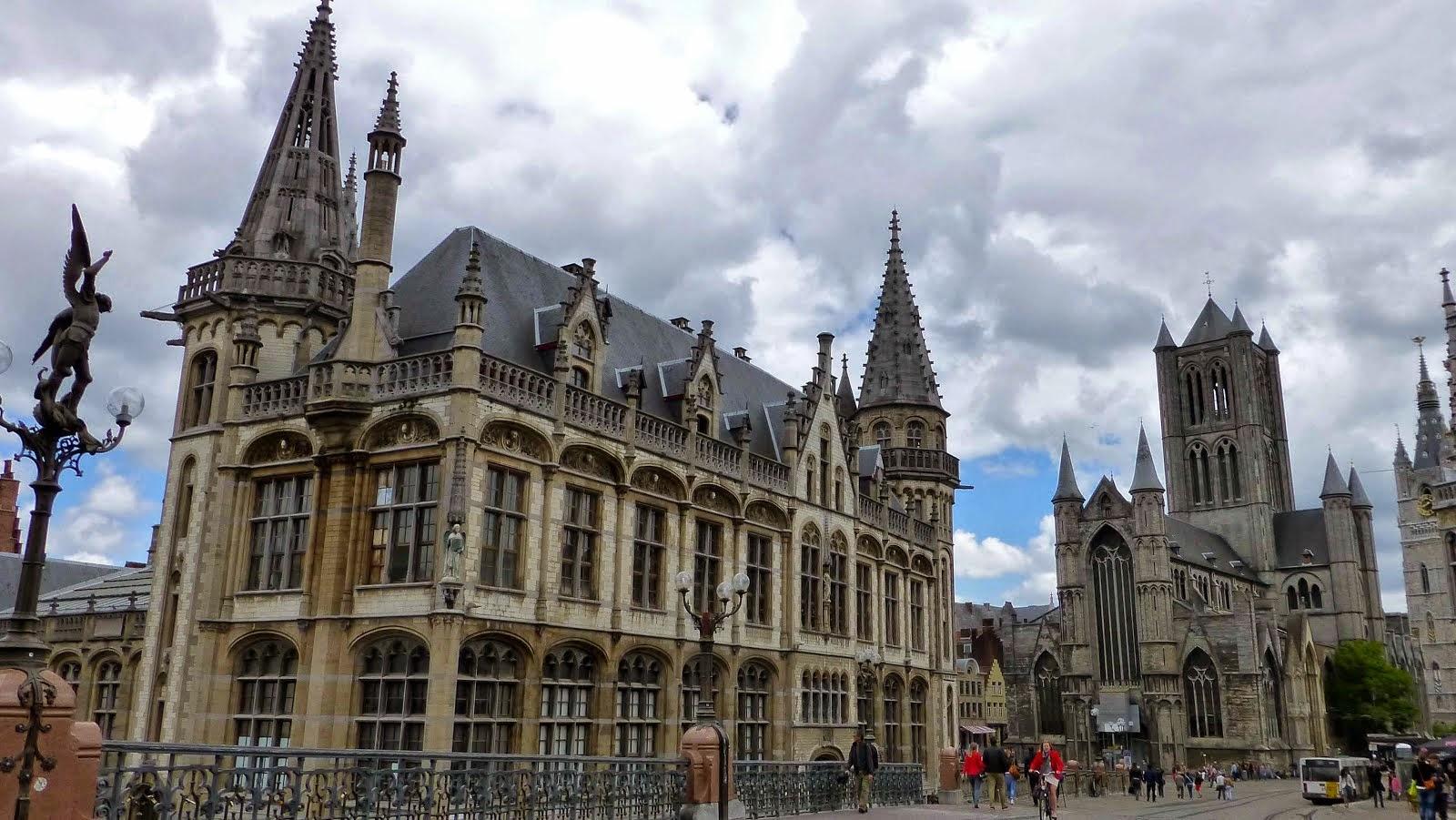 Lucie et r al en bavi re alsace lorraine luxembourg et belgique la belgique - Bureau de poste belgique ...