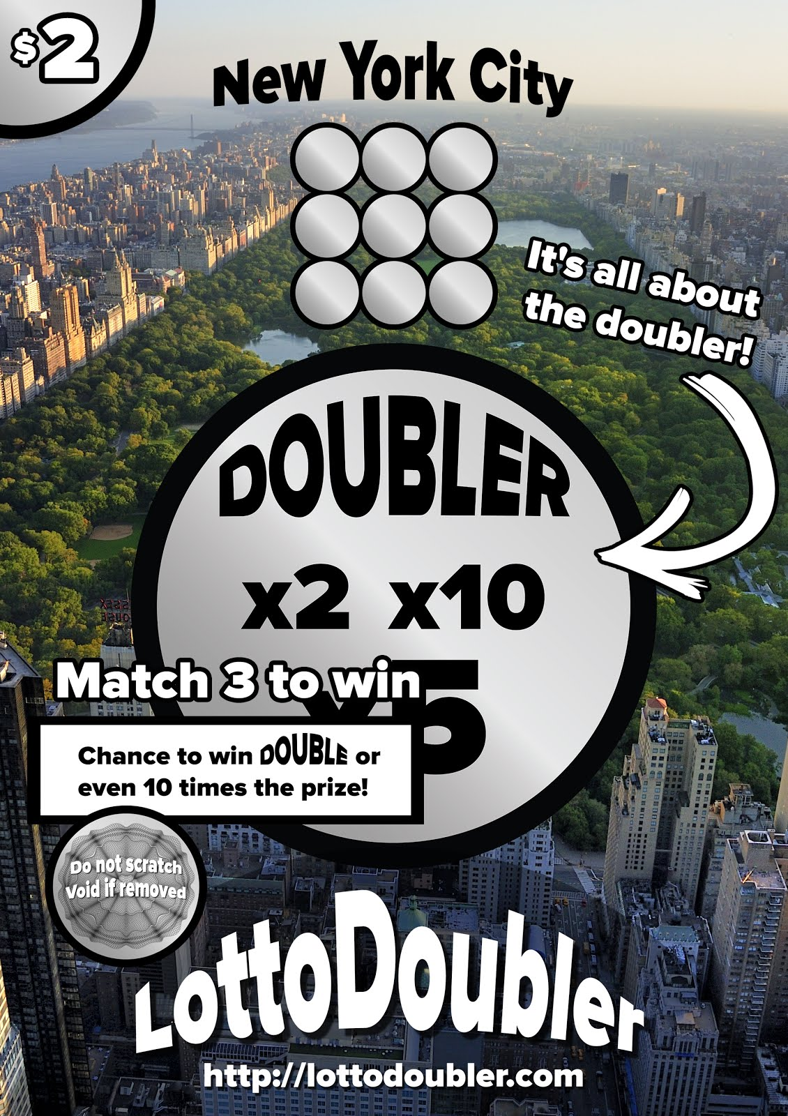 It's all about the doubler!