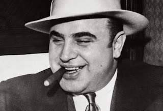 Famous picture of gangster Al Capone - Le Marginal Magnifique