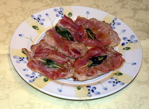 "Anna Maria's Open Kitchen: Saltimbocca ""alla Romana"""
