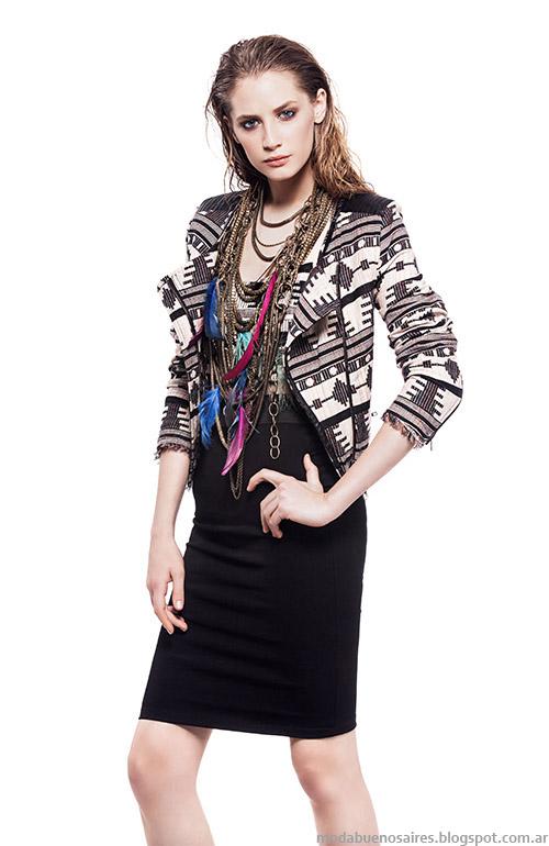 Chaqueta moda verano 2015 Basement ropa de mujer.