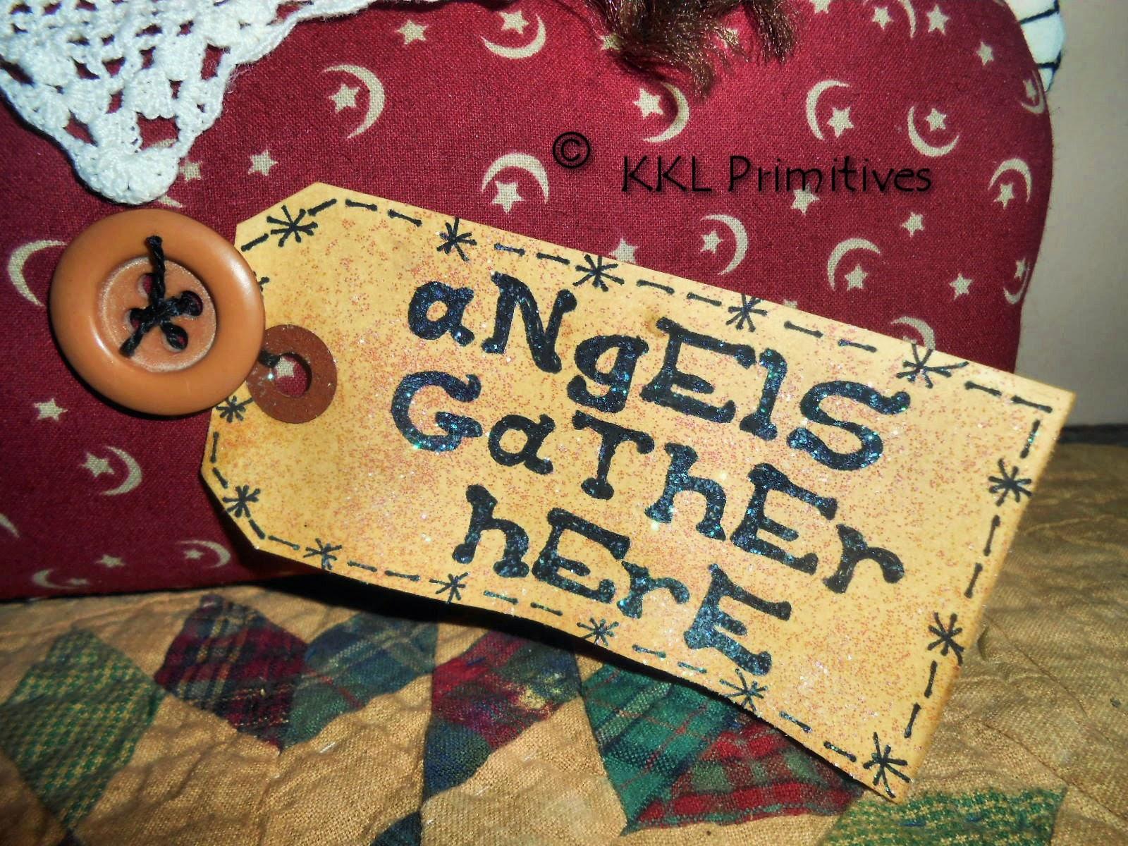 KKL Primitives Selling Blog PRIMITIVE FOLK ART ANNIE
