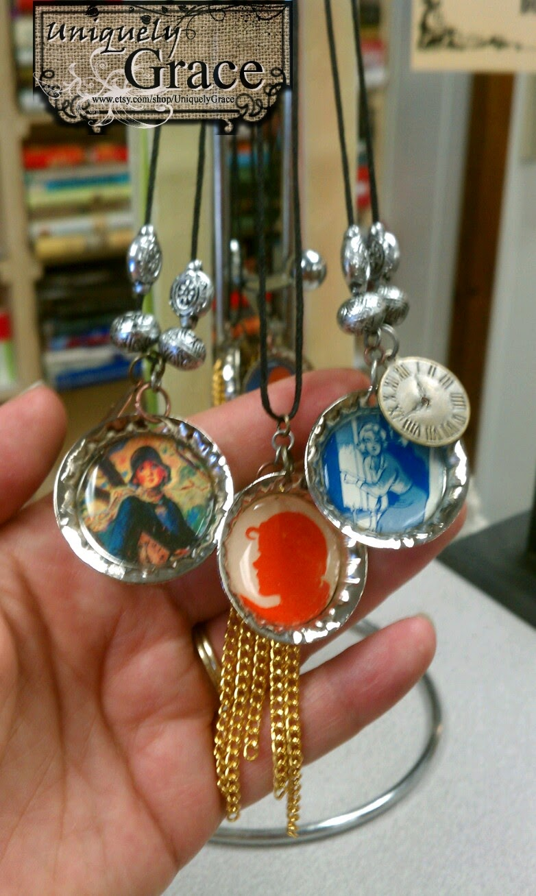 http://blog.uniquelygrace.com/2013/05/nancy-drew-bottle-cap-necklaces-and.html