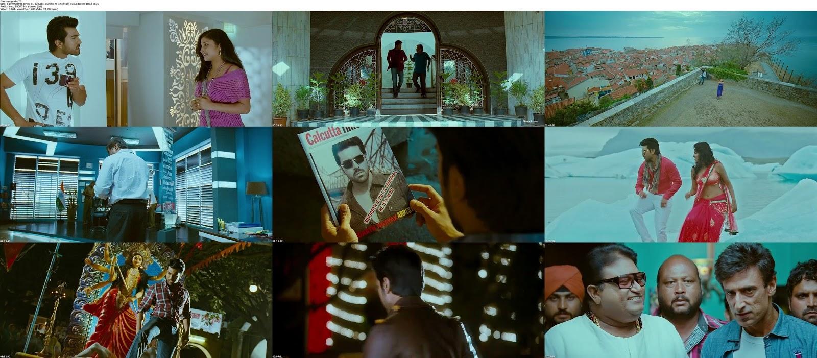 movie screenshot of Naayak fdmovie.com