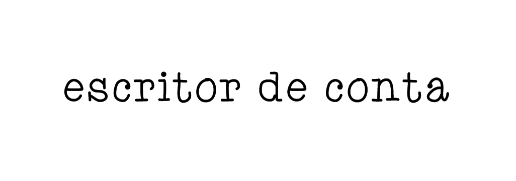Escritor de Conta