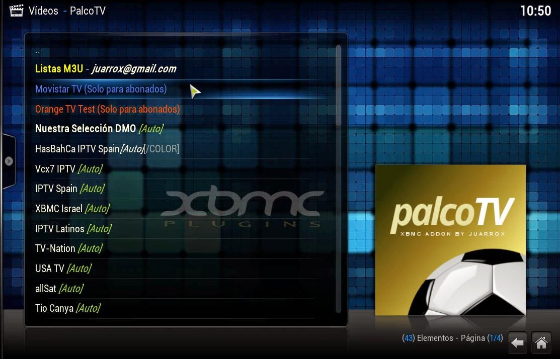 XBMC PALCO TV 0.2.85