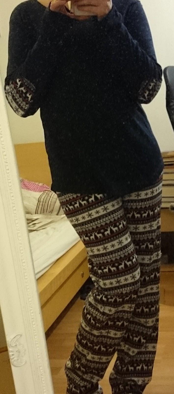 Winter Schlafanzug