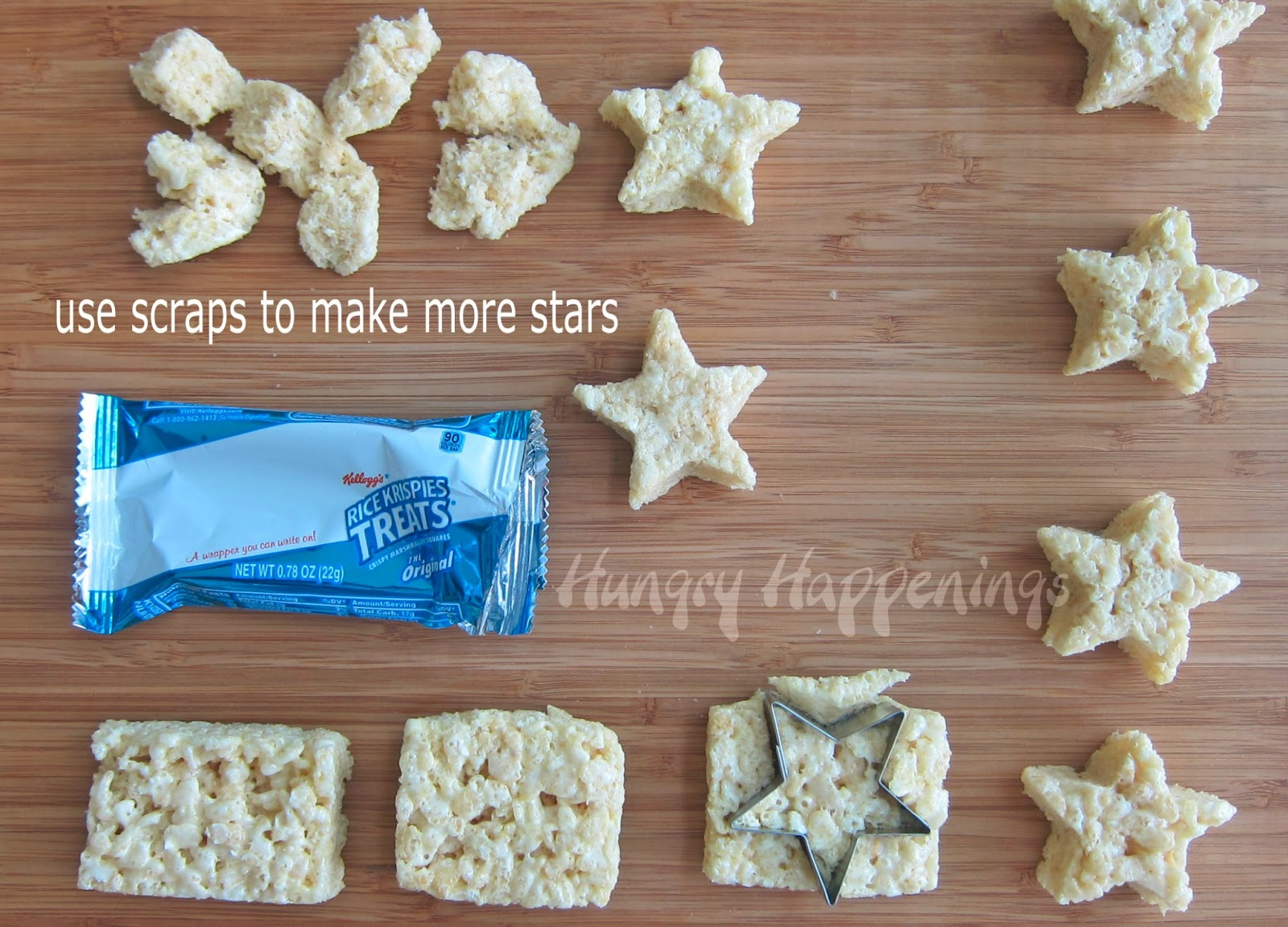 Home handmade candies chocolate dipped rice krispy treats 2 - Patriotic Pops Red White And Blue Candy Coated Cereal Treat Stars