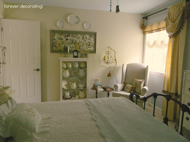 forever decorating guest bedroom redo again