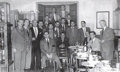 Café Metropol en el nº 46 de la Rambla Nova tercera sede del Club Ajedrez Tarragona en 1957