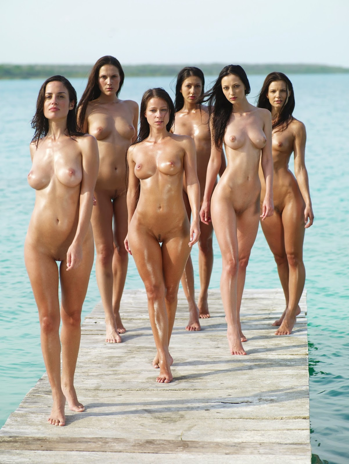 The world Sexy girls naked in groups remarkable, rather