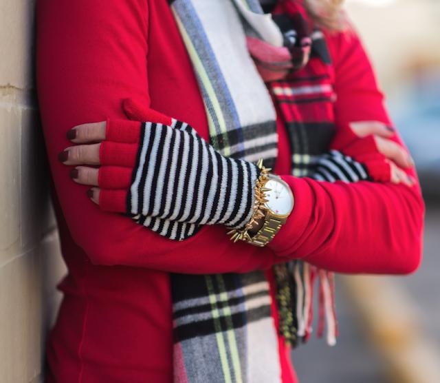 Winter/Fall fashion - Topman Tartan Fringe Scarf