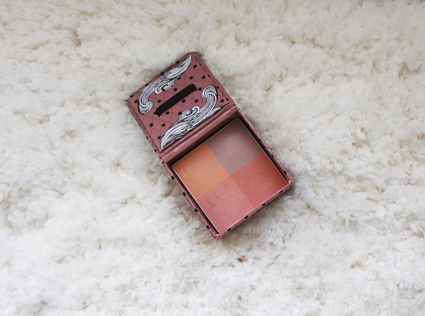 hard candy fox in a box blush smooth talker review swatches