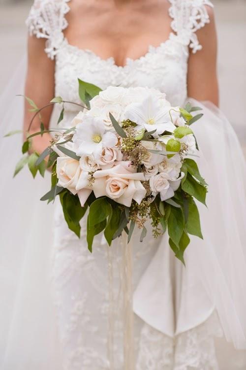 brudbukett vit klematis, brudbukett vit clematis, wedding bouquet white clematis, bridal bouquetwhite clematis