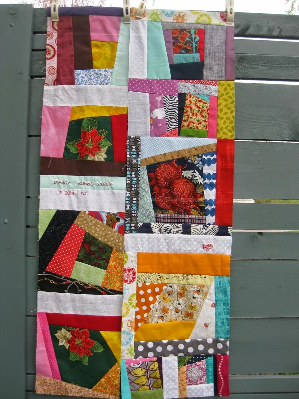 Round Robin-Royalee's Quilt by Afton Warrick @ Quilting Mod
