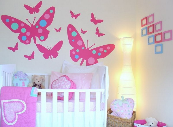 Idée Papier Peint Chambre Fille - Papier peint, tapisserie murale déco chambre, enfant