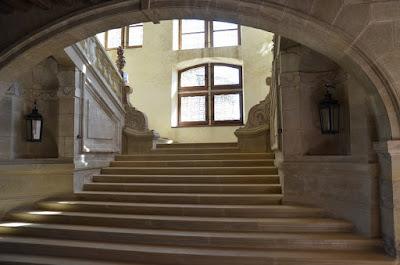 Château de Hautefort. Escala principal