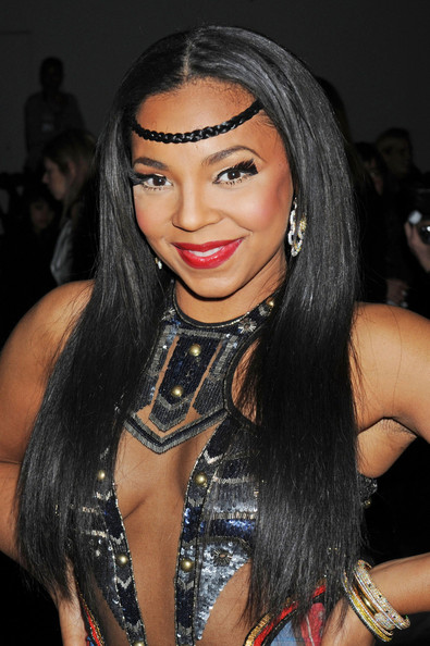 Here Is Ashanti At The New York Fashion Week Recently  The Songstress