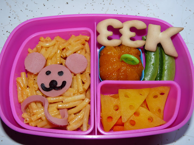 mouse macaroni cheese bento lunch