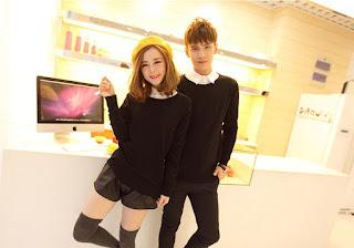 Sweater Cowok Korea