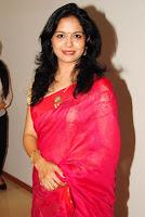 Singer Sunitha hot photos in saree
