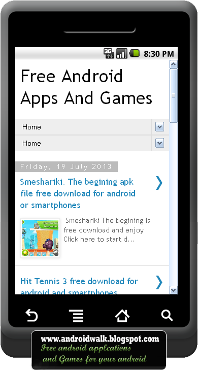 download androidwalk application for games and software free