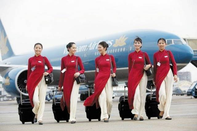 18Vietnam252CVietnamAirlinesAirHostess - Air Hostess From Different Countries