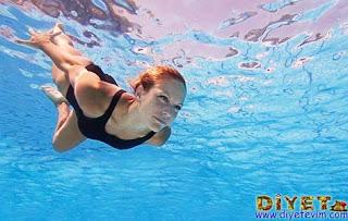 yüzerek kalori yakma