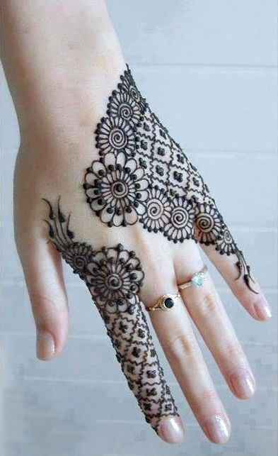 Best Back Hand Mehndi Designs For Any Occasion