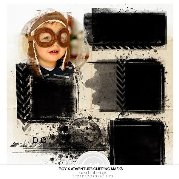 http://shop.scrapbookgraphics.com/Boy-s-adventure-Masks.html