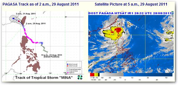 satellite image bagyong mina