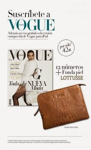 Regalo por suscripción Noviembre 2014: Vogue