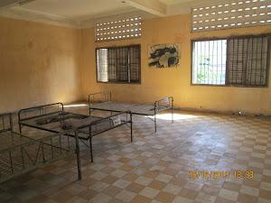 """SCHOOLCLASSROOM"" converted into ""PRISON CELL"""