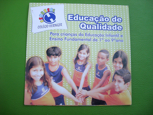 Folder de educação - 1