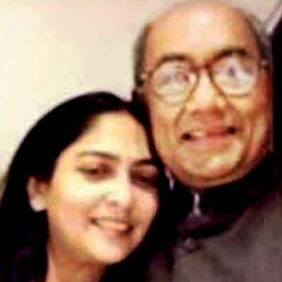 Amrita Rai – Digvijay Singh