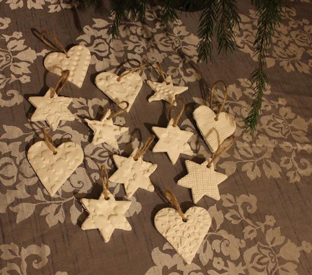 joulukoristeet soodataikinasta