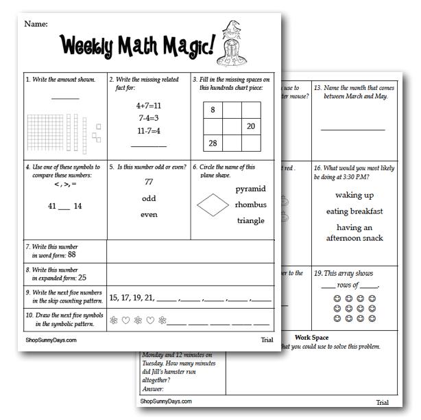 Math Worksheets Math Worksheets 3rd Grade Review Free – 3rd Grade Math Review Worksheets