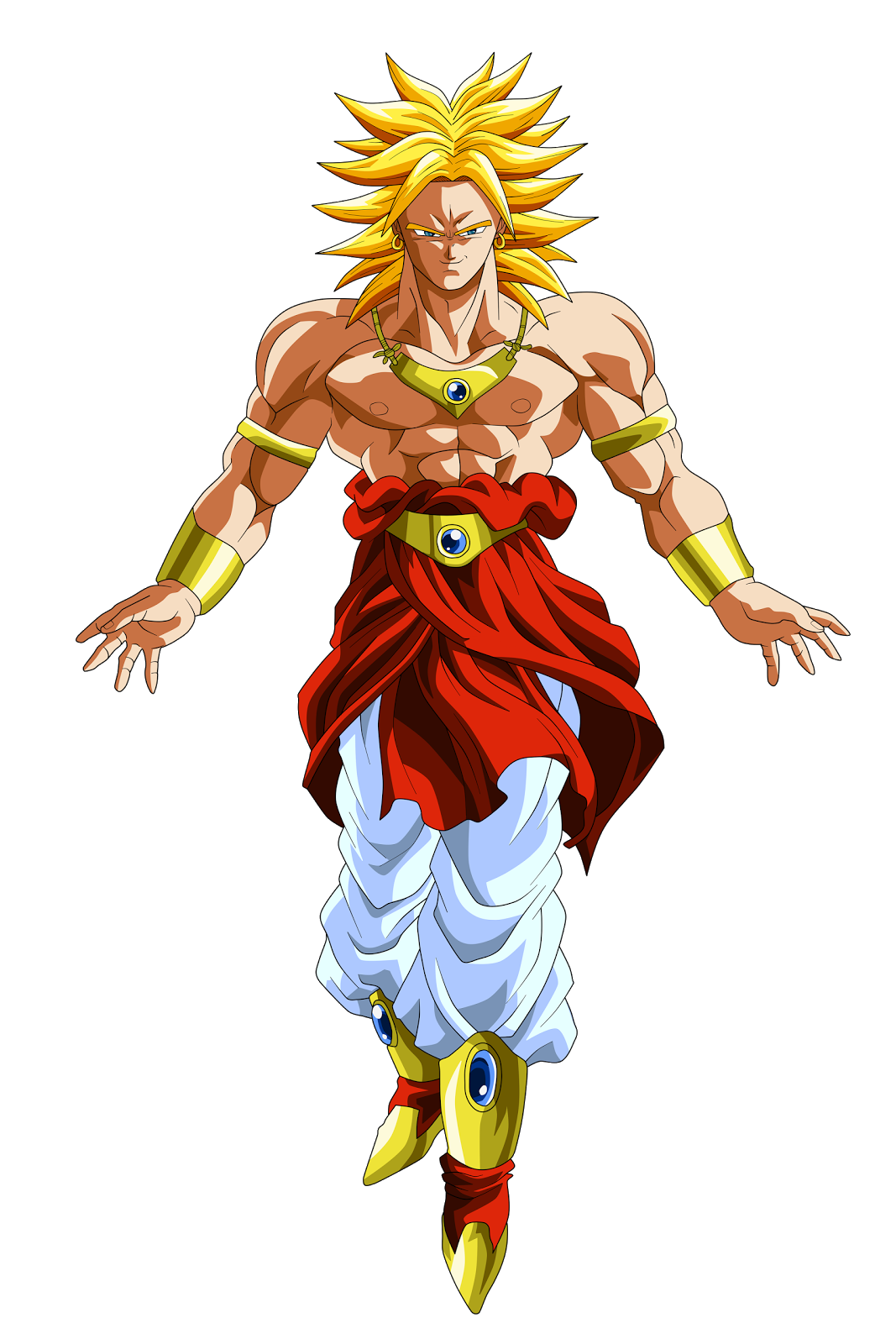 Dragon ball z gt imagenes png - Broly dragon ball gt ...