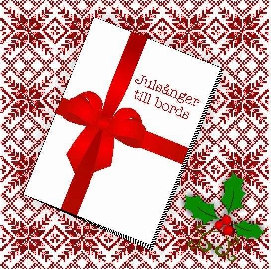 Nubbevisor och sånger till jul