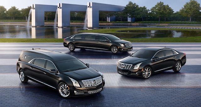 Cadillac has announced a trio of new specialty vehicles based on the 2013 XTS, including a livery sedan, limousine, and 'funeral coach'