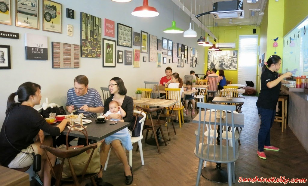 cafe ambience, cozy cafe, Bites Cafe Lake Fields, Bites Cafe, Sungai Besi, coffee place, malaysia cafe, Coffee, Waffle, Breakfast Pizza, Frittata, Affogato, The last polka, ice cream with coffee, chilled out place, chilled out cafe, egg dish