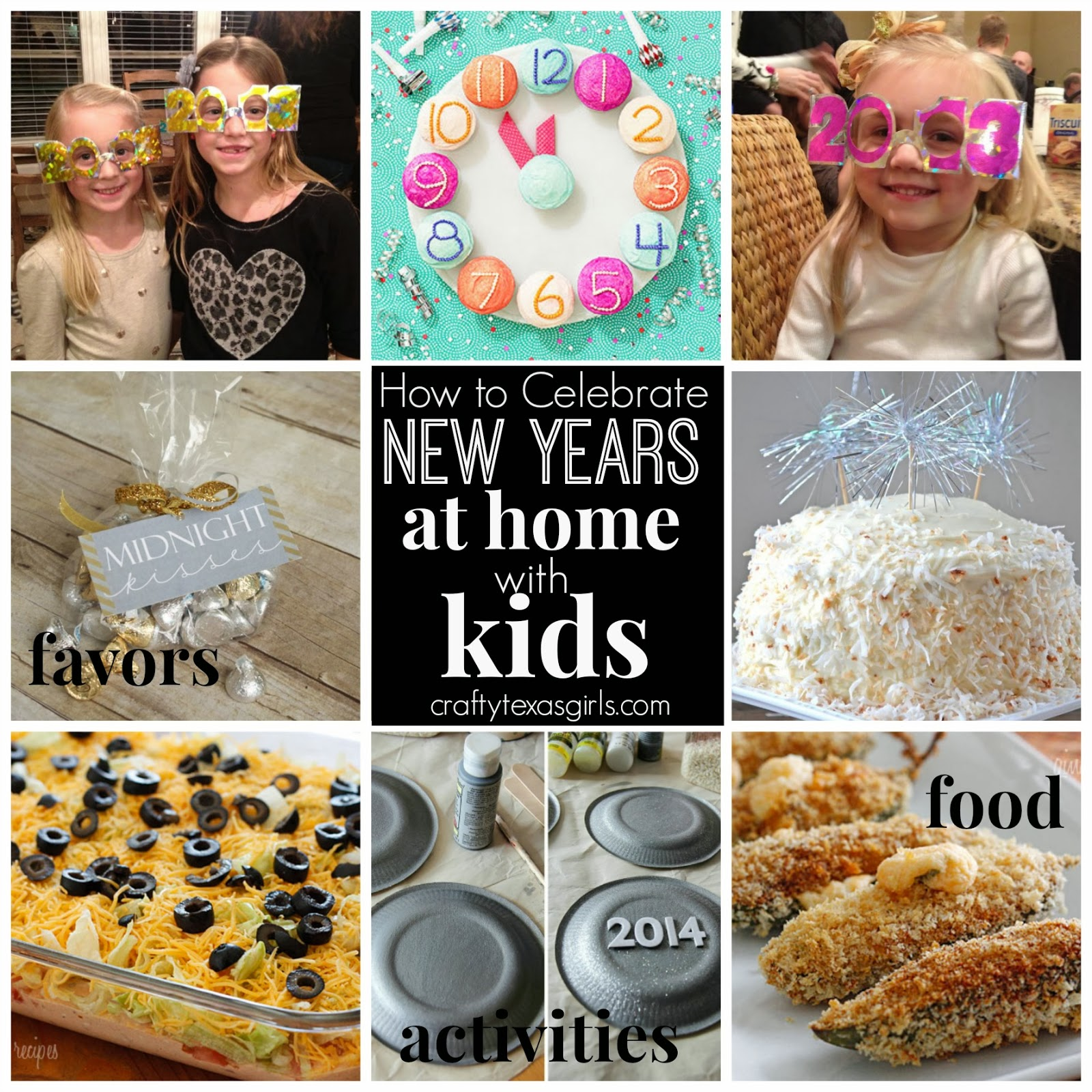 Crafty texas girls how to celebrate new years at home - New year celebration at home ...